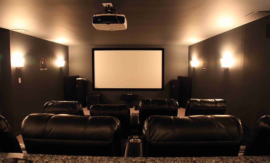 home theater installation by BF Configurations in Dallas, TX